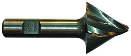 CON-U - Premium Steel Conical Tapered End Mill, 30 deg per side