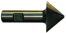 CON-W - Premium Steel Conical Tapered End Mill, 45 deg per side