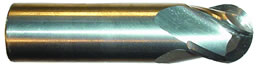 EMCSTBN - Carbide End Mill, Ball Nose, Stub Length