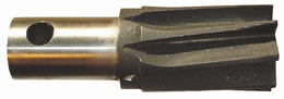 RST - HSS Stub Reamer, Left Hand Helix, with Drive hole