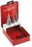 DSTEPSET - 3 Piece Multi Diameter Step Drill Sets.