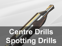 Centre Drills and Spotting Drills