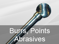 Burrs, Points and Abrasives